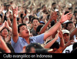 <p> Culpan a evang&eacute;licvos de violencia isl&aacute;mica en Indonesia</p> ,