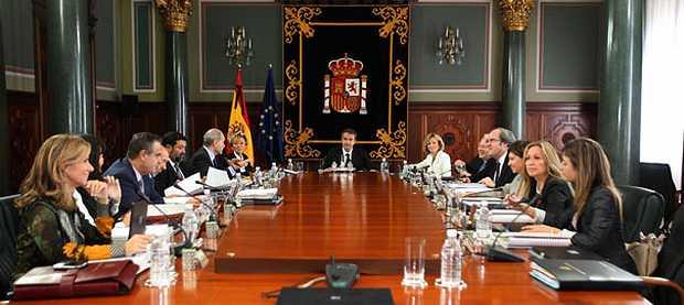 <p> Consejo de Ministros (foto de archivo)</p> ,