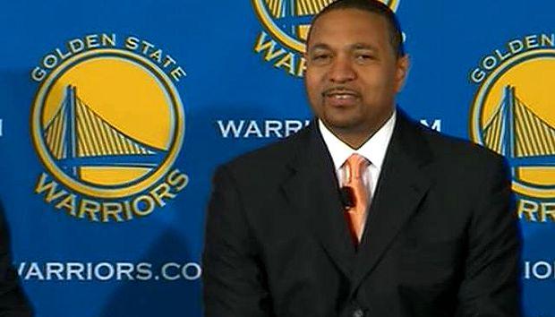 <p> Mark Jackson, como entrenador de los Warriors</p> ,
