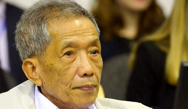 <p> Kaing Guek Eav, alias Duch, durante el juicio</p> ,
