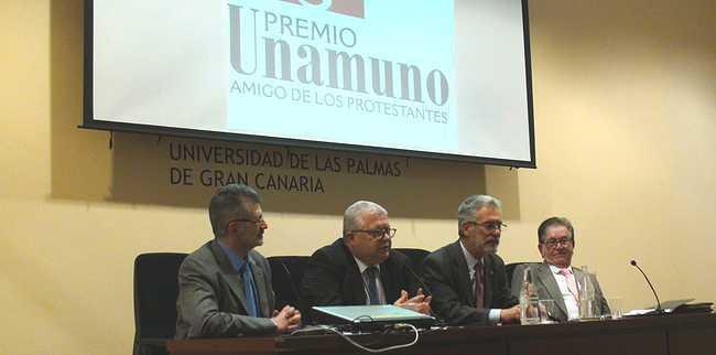 <p> De izda. a dcha.: P. Tarquis, E Solana, J. Regidor y J.A. Monroy</p> ,