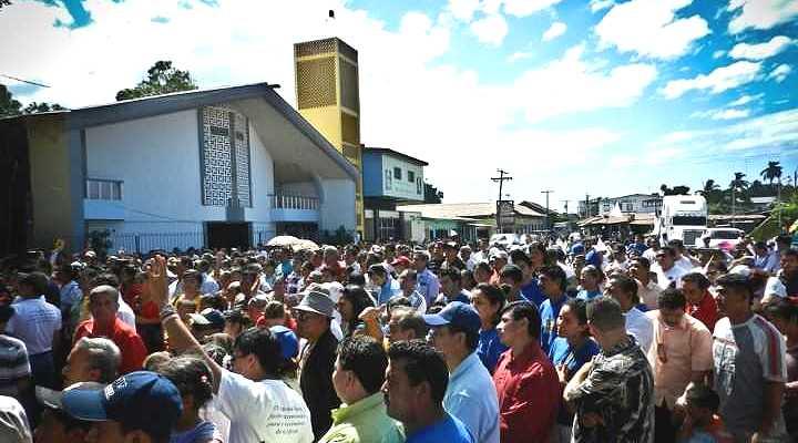 <p> Culto de celebraci&oacute;n del centenario de las Asambleas de Dios en Nicaragua</p> ,