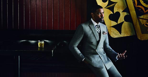 <p> El actor Denzel Washington, portada de GQ en septiembre (Foto: GQ).</p> ,