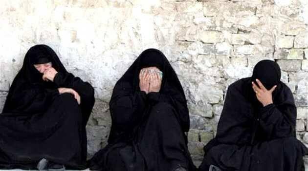 Mujeres prisioneras de yihadistas del Estado Islámico,esclavas IS