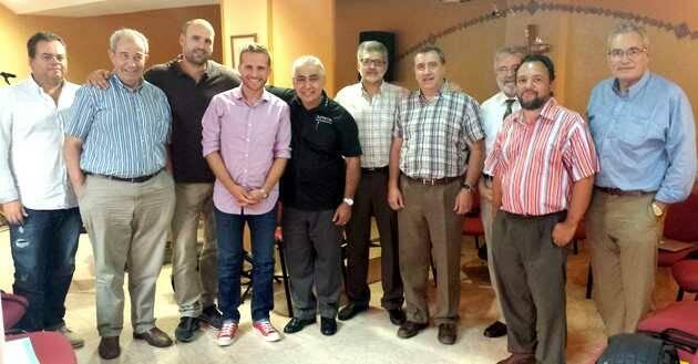 Asistentes al primer encuentro de la plataforma de radios evangélicas en España,Global.Radio