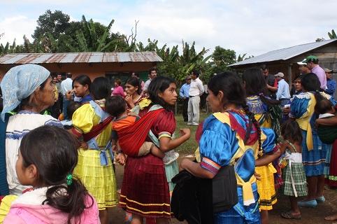 Familias evangélicas en Chiapas. / El Universal,chiapas