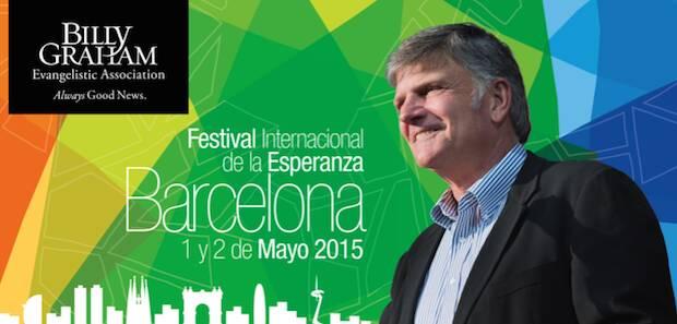 Barcelona acogerá el Festival de la Esperanza.,Billy Graham