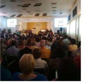 Unos 300 pastores participaron de la primera reunión para presentar el Festival.