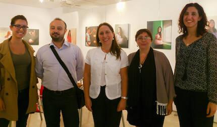 La Concejala de Participación e Igualdad y el Concejal de Tráfico y Transportes de Pinto estuvieron presentes en la inauguración.