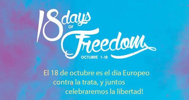 La iniciativa europea, en España. / Esclavitud XXI,18diasdelibertad