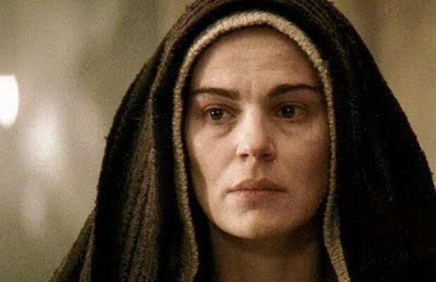 María, en la película 'La Pasión' de Mel Gibson.,María.