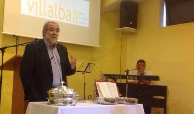 José Luis Andavert, predicando.,José Luis Andavert