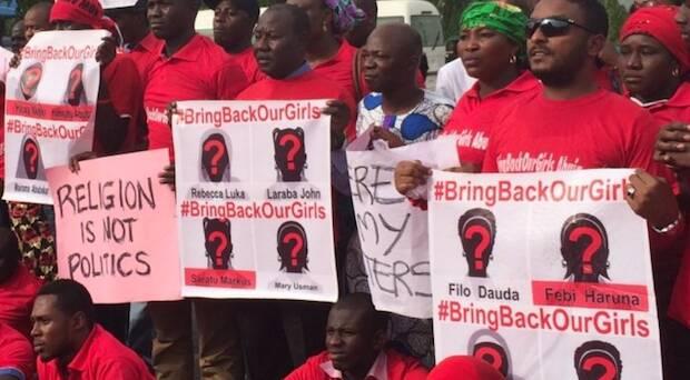 Manifestación pidiendo la liberación de las chicas secuestradas. / Twitter de #BringBackOurGirlsAbuja,bringbackourgirls