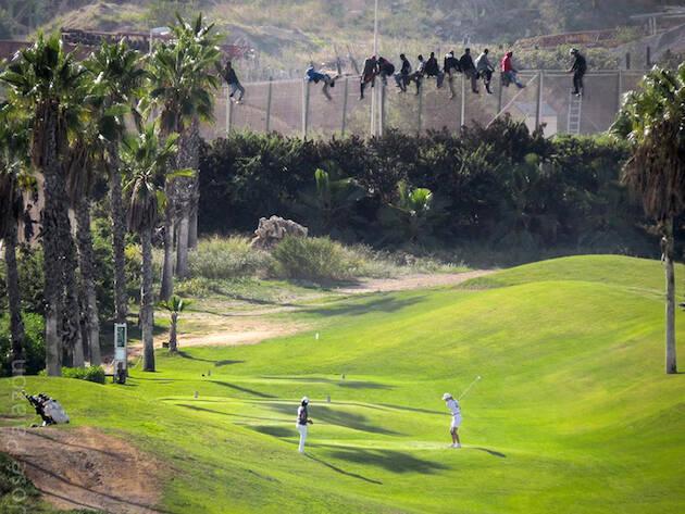 © José Palazón, Melilla frontera sur,golf frontera