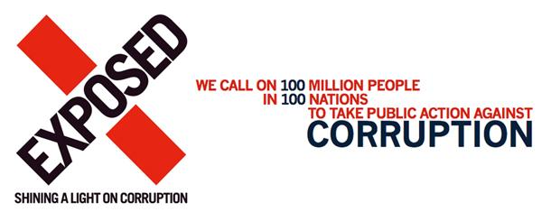 <p> Exposed Llama a 100 millones de personas en 100 naciones a manifestar su oposici&oacute;n a la corrupci&oacute;n.</p> ,