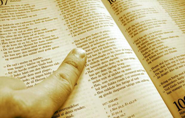 Foto: Jesper Noer.,biblia