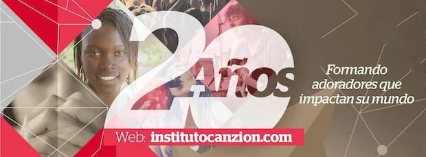 Cartel de conmemoración del 20 Aniversario de Instituto CanZion. / ICZ,ICZ aniversario
