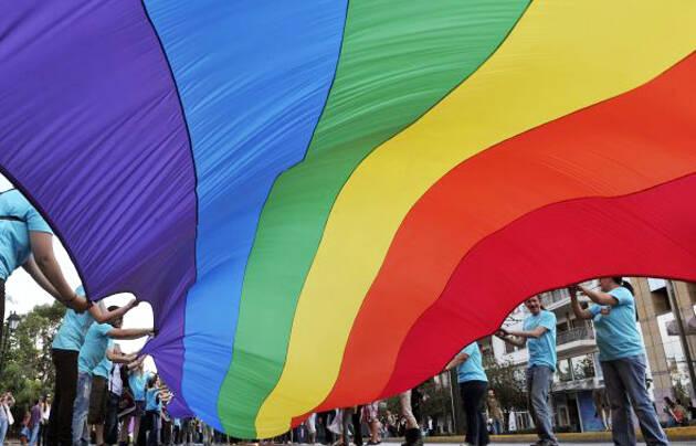 Marcha pro LGBT. ,LGBT
