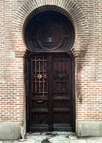 <p> Aspecto de la puerta de la Iglesia Evang&eacute;lica del Salvador. (Foto: IEE).</p> ,