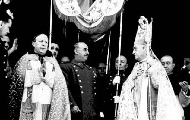 Francisco Franco bajo palio,Francisco Franco