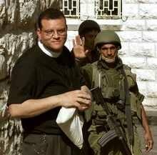 Andrew White, vicario anglicano en Bagdad / C.T.