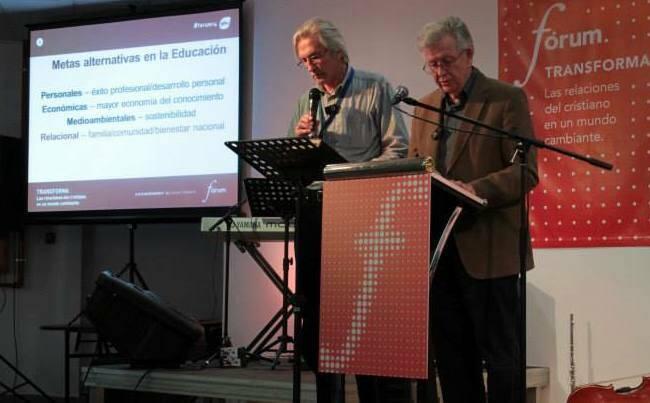 Michael Schluter, conferenciante en Forum Transforma 2014. / GBU,Michael Schluter