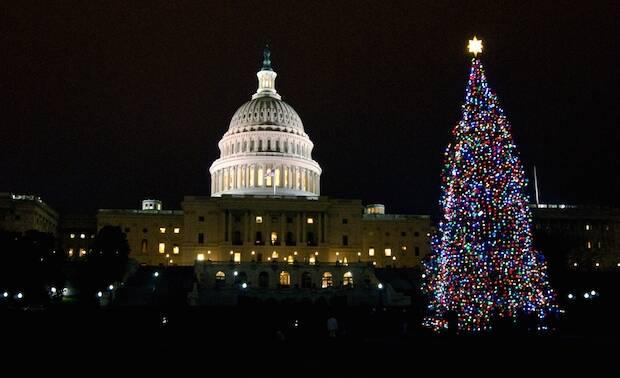 Washington, en Navidad.,washington en navidad