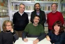 Dori Alonso, José Sánchez, Rubén Lugilde, Alfredo Pérez Alencart, Timoteo Glasscock y Rebeca Lagos, miembros del jurado