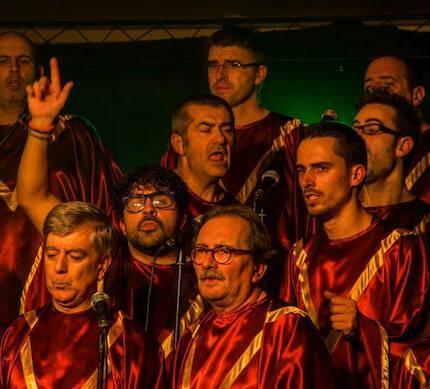 El coro actuó en cuatro ciudades gallegas. / Daniel Rodríguez