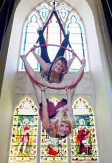 Escuela de circo en el que fue un templo cristiano