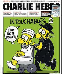 Una de las viñetas satíricas de 'Charlie Hebdo'.