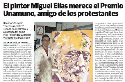 El diario El Norte de Castilla.