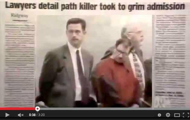 Los medios difunden la noticia del juicio de  Gary Leon Ridgway, el asesino en serie de Green River,Gary Leon Ridgway, asesino en serie, Green River