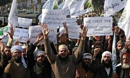 Ira en el mundo del islam contra 'Charlie Hebdo'