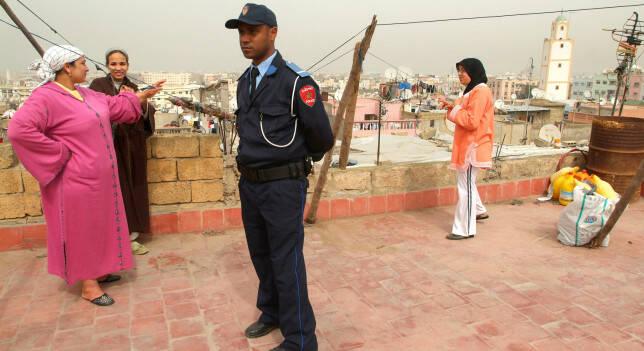 Policía marroquí. / Antena3,