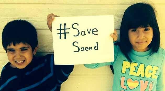 Los hijos de Saeed, en una imagen de archivo,Saeed Abedini