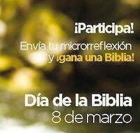 Microrreflexión para el Día de la Biblia
