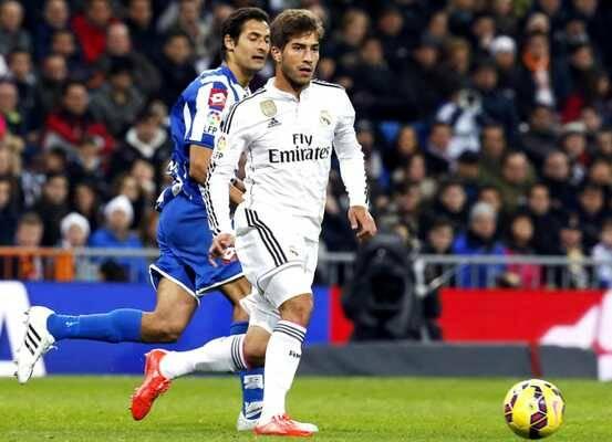 Lucas Silva, en su debut con el Madrid, el pasado 14 de febrero / EFE,Lucas Silva, Real Madrid, cristiano evangélico