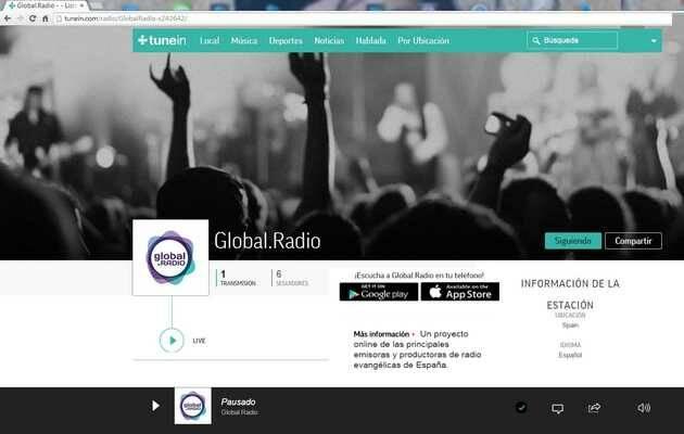 ,Global.Radio, TuneIn