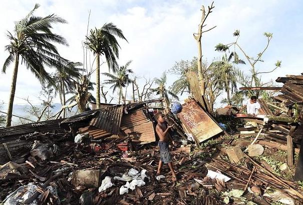 La capital,  Port Vila. / Reuters,