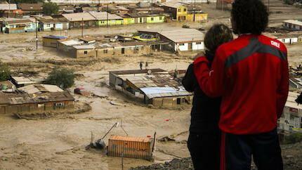Inundación en Chañaral.
