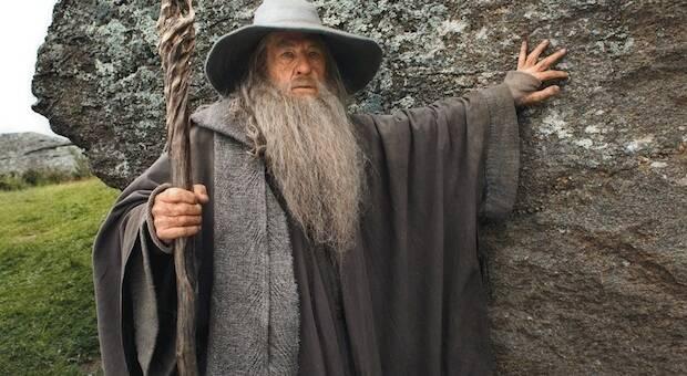 Gandalf, uno de los personajes de El Hobbit.,gandalf