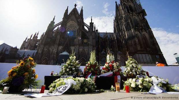 Exterior de la Catedral de Colonia.,