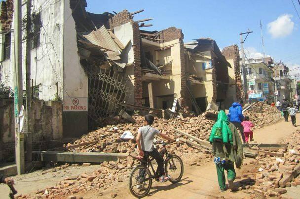 Una de las calles de Katmandú. / Tear Fund UK,