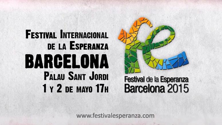 El Festival de la Esperanza, este viernes y sábado en el Palau Sant Jordi.,