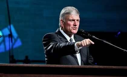 Franklin Graham, exponiendo el evangelio. / MGala