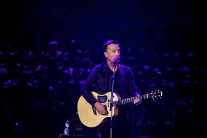 Michael W. Smith, en un momento del concierto de Barcelona. / Gabriela Pérez.