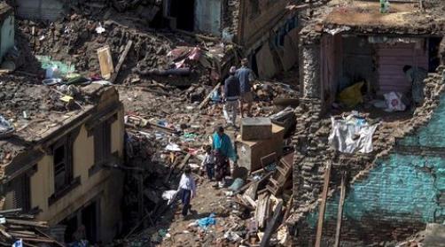 Katmandú, después del primer terremoto el 25 de abril. / ABC,katmandu