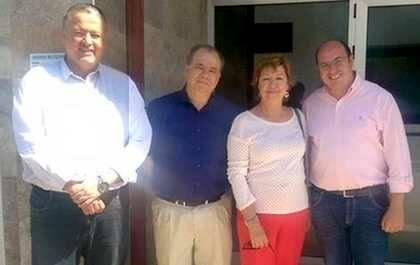 P.A. Sánchez y P. Barreiro a la derecha / RTVida