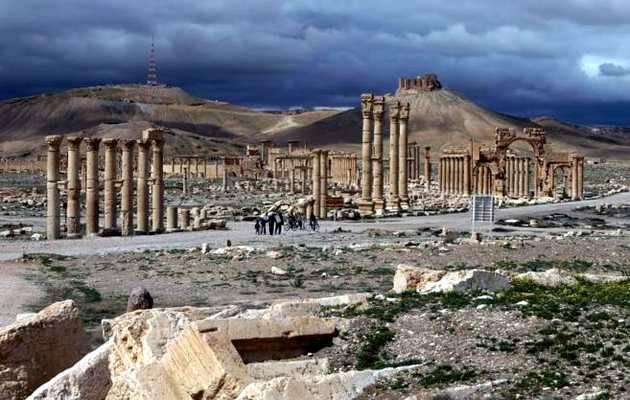 Antigua ciudadela de Palmira, ahora en manos del Daesh (Estado Islámico) / Joseph Eid AFP-PH-NIC,Palmira, Siria